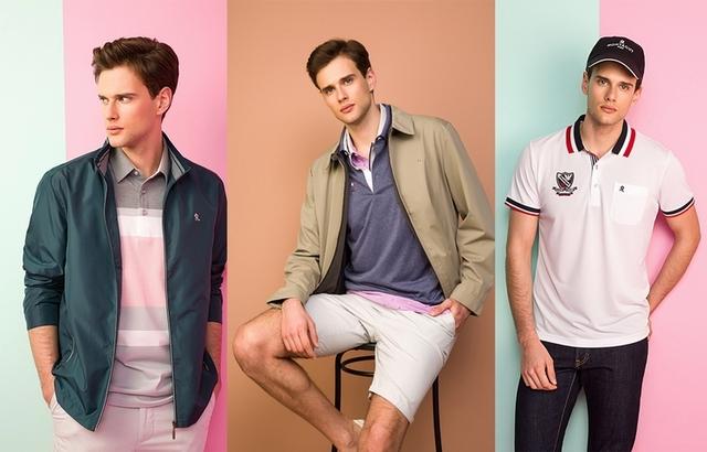 可正式又可休閒 Montagut男裝早春新品以紅、藍、白穿搭展現都會魅力