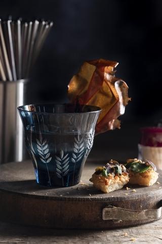 餐酒組合 2:茴香花椒調酒+義式大腸包小腸