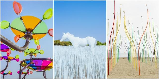 2019漁光島藝術節登場!彩虹森林、奇幻白馬⋯26件藝術裝置點亮台南,簡直是夢幻樂園!