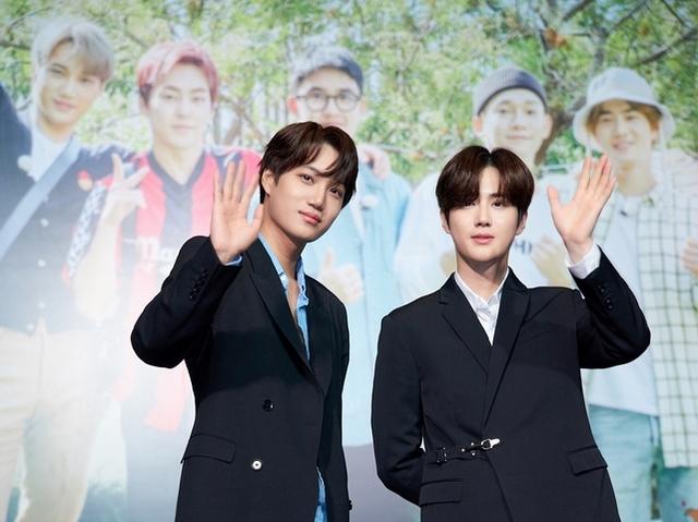 EXO雙帥撲台慶功 秀台語「水喔」撩粉