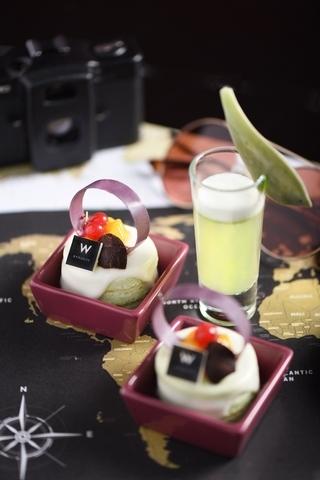 W Bangkok:椰奶斑蘭戚風蛋糕 x GUEI FEI FADES