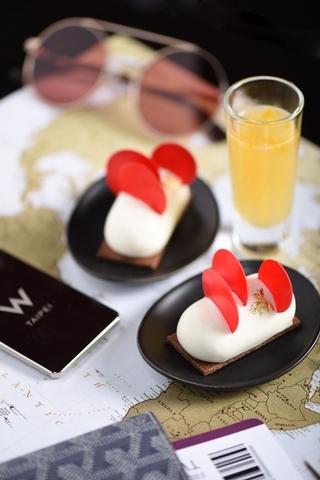 W Taipei:橙酒乳酪慕斯佐巧克力椰子餅 x  SIDECAR