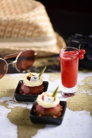 W Singapore:抹茶奶油起司蛋糕 x ORIENTAL SPARKLE