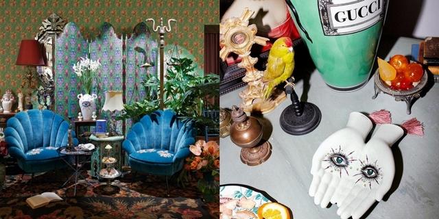 Gucci全新Décor家飾系列搶先登場米蘭限時店 雙手造型托盤、貝殼椅美得好燒心!