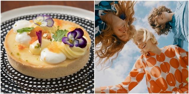 陽明山才有的夢幻級甜點!Marimekko x VVG好樣秘境主打聯名甜點,配上印花盤飾美到捨不得吃