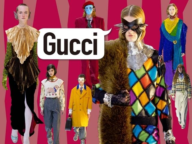 〈2019秋冬米蘭女裝周〉Gucci    面具之下是真亦假