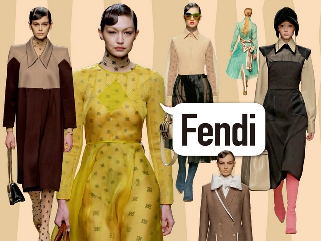〈2019秋冬米蘭女裝周〉Fendi  Karl Lagerfeld的最後告別