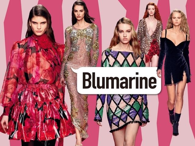 〈2019秋冬米蘭女裝周〉Blumarine  重返花樣年華