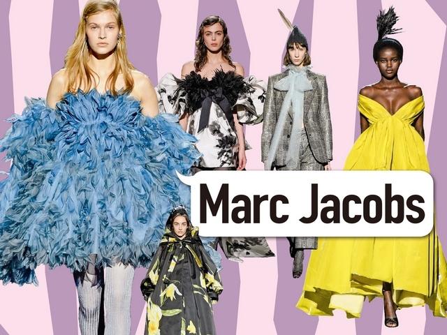 〈2019秋冬紐約女裝周〉Marc Jacobs  凡間天使