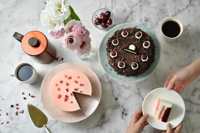 2. 星巴克蛋糕系列
