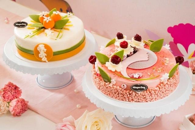 6. Häagen-Dazs 傾心茉莉、天空之橙冰淇淋蛋糕