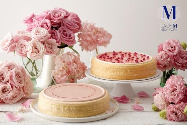 4. Lady M 玫瑰千層蛋糕