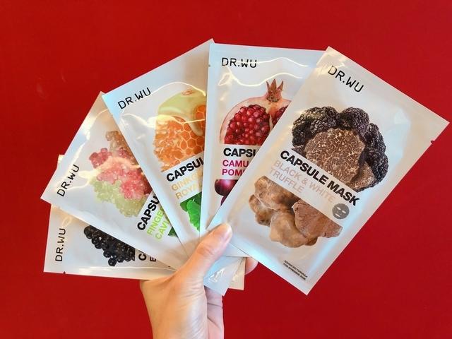 通通都是米其林等級的超級食材! DR.WU 「超級食物膠囊面膜」給肌膚專屬,吃好吃滿吃漂亮!