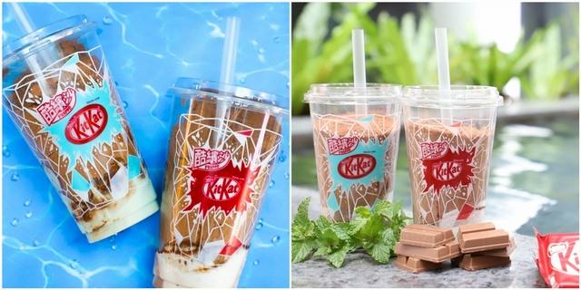 KitKat奇巧巧克力變冰沙!攜手全家推原味、薄荷兩款風味,5/22全台限量發售