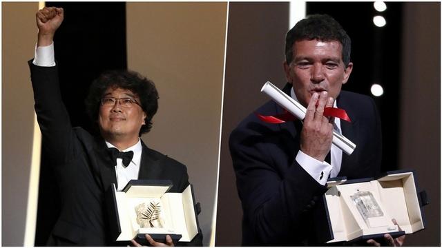 坎城影展/韓國電影100周年首奪金棕櫚! 《寄生上流》導演奉俊昊:沒想過有天能摸到這座獎。