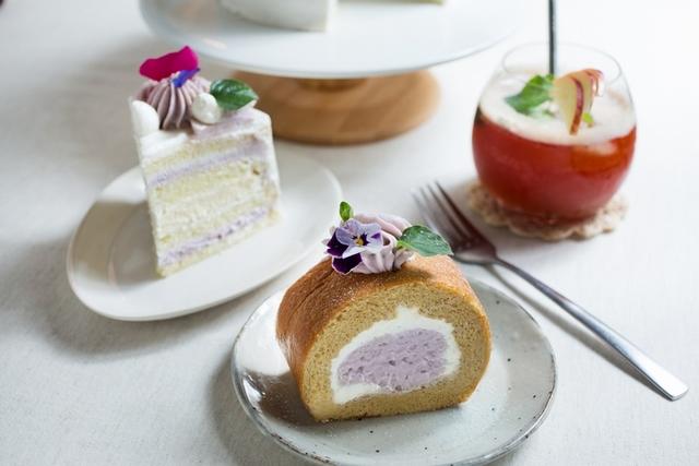 6. 芋泥香酪蛋糕