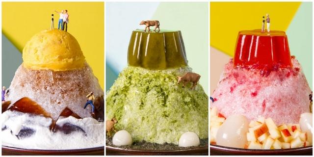 超台山系挫冰登場!「好丘」把愛文芒果、地瓜、玫瑰花都加入冰品,還加碼推出夢幻冰沙!
