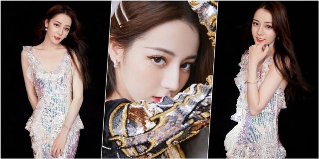 這眼神太迷人!迪麗熱巴穿戴MIKIMOTO 瞬間搭出精靈般女人味
