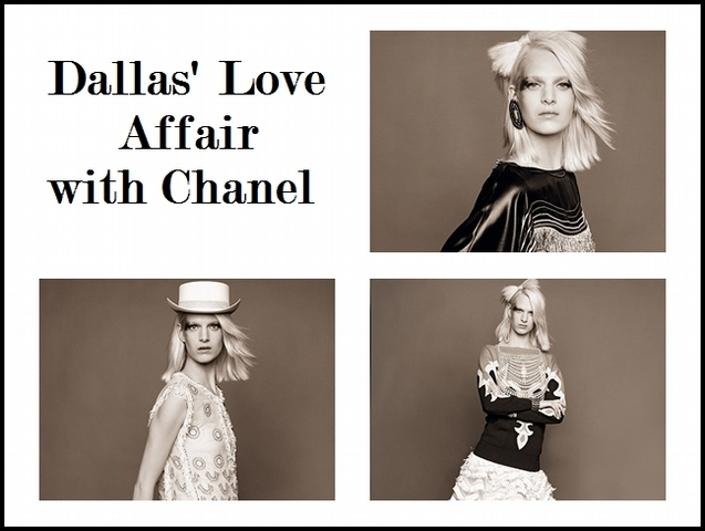 Dallas' Love Affair  with Chanel-印第安的幻想