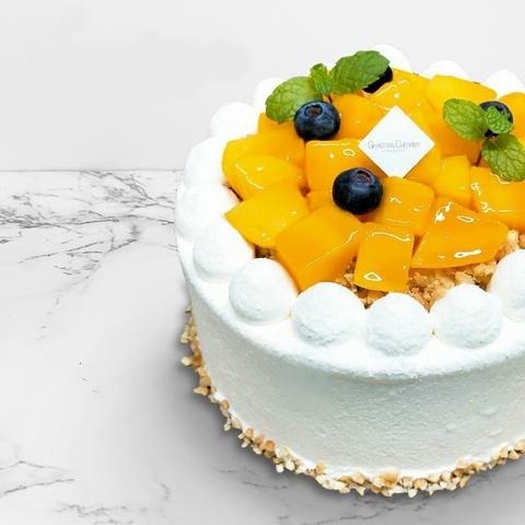 盛夏芒果蛋糕