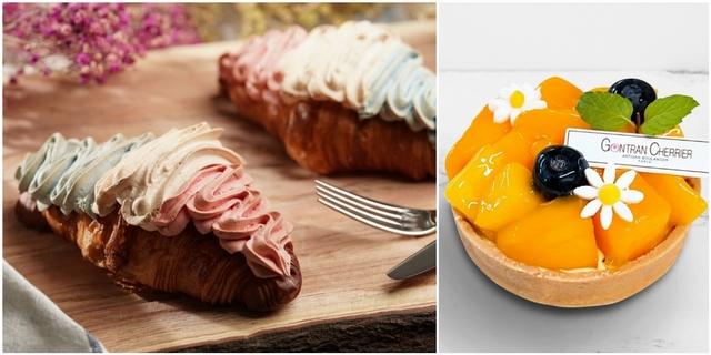 絕美系可頌誕生!巴黎烘焙名店Gontran Cherrier打造三色可頌,加碼推出芒果、西洋梨甜點擄獲甜點迷
