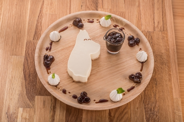 嚕嚕米黑糖珍珠生乳酪蛋糕