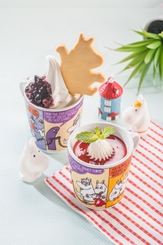 北海道霜淇淋佐季節水果醬