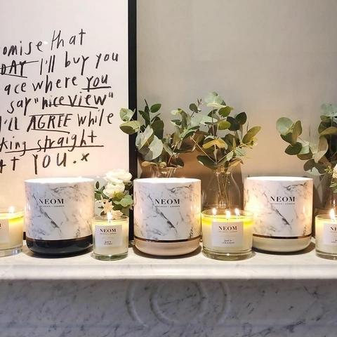 Neom最新大理石香氛蠟燭與擴香,放在家裡就是最有氣質,香氛控必搜單品