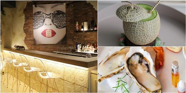 姊妹聚會必約這!「She_Design TAPAS SOJU BAR」把試管變酒杯搭配法國生蠔、韓式料理,好吃又好拍