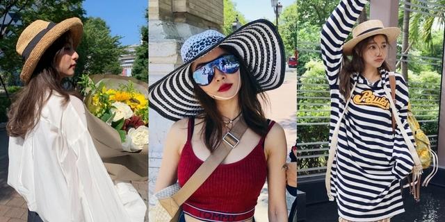 渡假沒它怎麼行!6款草帽推薦 學蔡依林、許路兒這樣搭 陽光再大也不怕