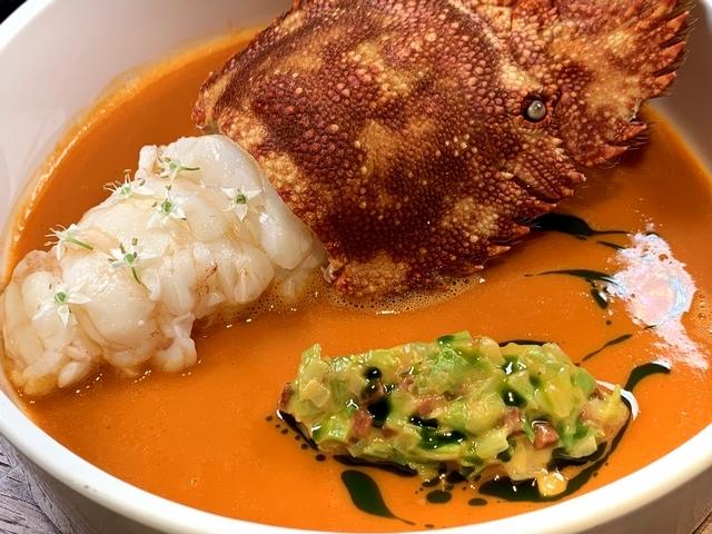 蝦蛄/扇蝦-西班牙臘腸-巴西利