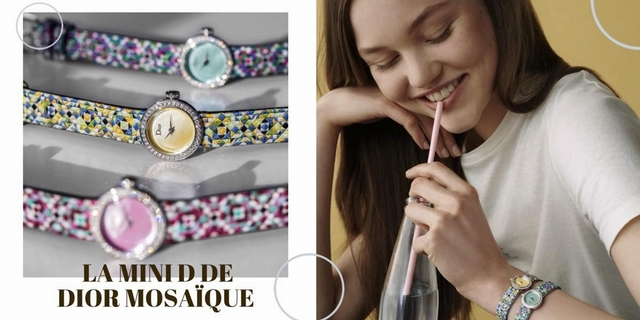 La D de Dior推全新腕錶!工藝細節製作大公開 想不到錶帶還暗藏這玄機