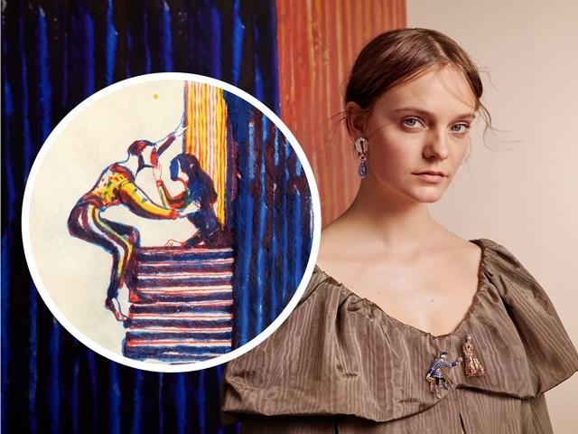 以珠寶寫就愛情經典 Van Cleef & Arpels Romeo and Juliet —2019巴黎高級珠寶展〔梵克雅寶篇〕