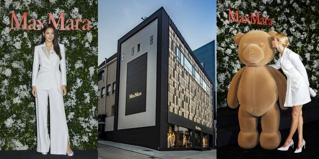 崔智友、金秀賢出席Max Mara韓國首家旗艦店開幕,眾星雲集閃耀登場