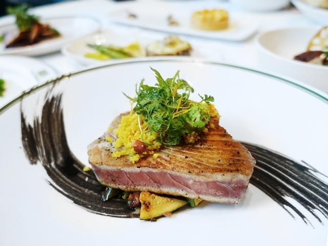 餐點-炙煎鮪魚排 庫斯庫斯