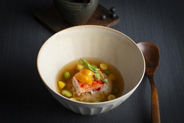 60度低溫烹調帝王蟹炊飯 日本北海道海膽 高湯芡  NT. 1,080