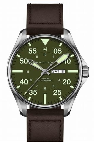 玩錶藏家最愛!漢米爾頓Hamilton主打大飛行系列限量款,軍綠色帥炸!