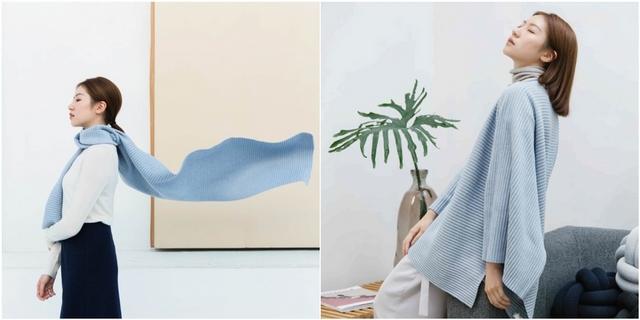把絕美冰河穿上身!瑞士設計品牌Design House Stockholm新推「冰川藍」褶毛絨毛衣、T-shirt,氣質女孩快搶購!