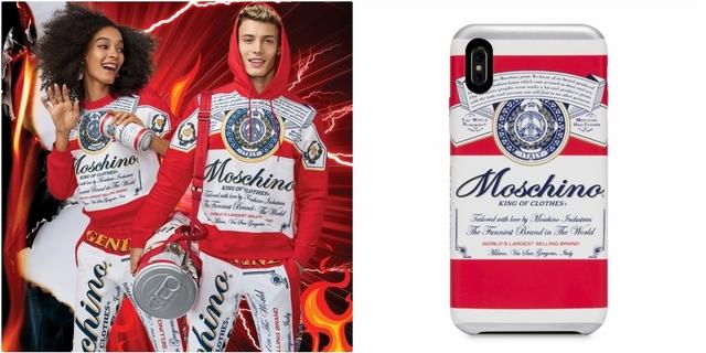 幽默無極限!MOSCHINO與百威啤酒推限量聯名,啤酒罐耳環、手機殼超趣味