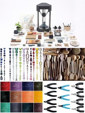 1. 微量產主題館:匯集各式創新材質與特色體驗