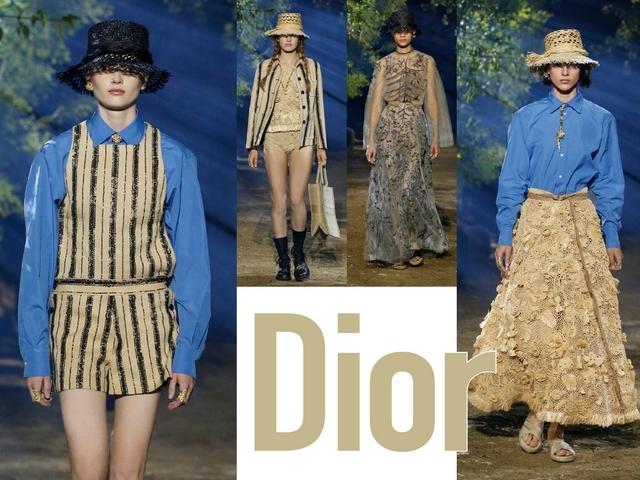 〈2020春夏巴黎女裝周〉Dior  從美麗蓊鬱的花園而生
