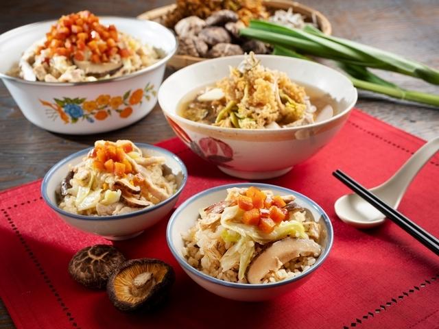 烏魚子芋頭高麗菜、花菜乾排骨湯