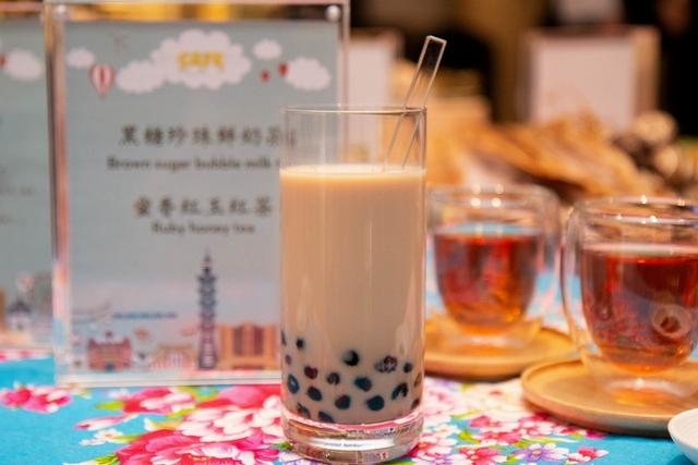 黑糖珍珠鮮奶茶