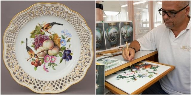 國寶級畫師手繪!匈牙利百年品牌Herend赫倫全球限量款登場,立體刻飾盤、四季瓷畫6款必收,藏家快看!