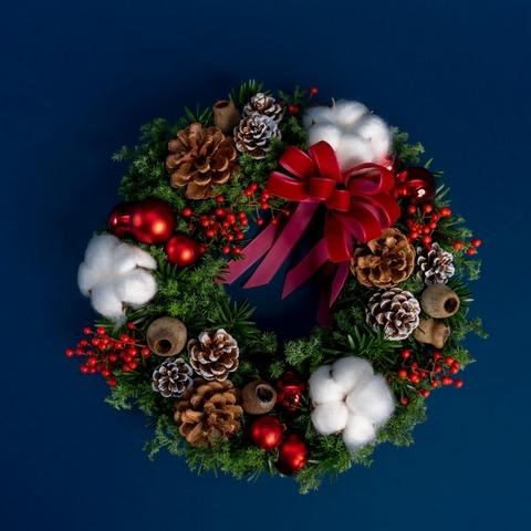 4. 希望種子聖誕花圈