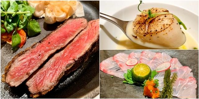 台北喜來登飯店「桃山X安東」雙廳套餐超強大!頂級牛排、新鮮生魚片超豐盛料理不吃會哭