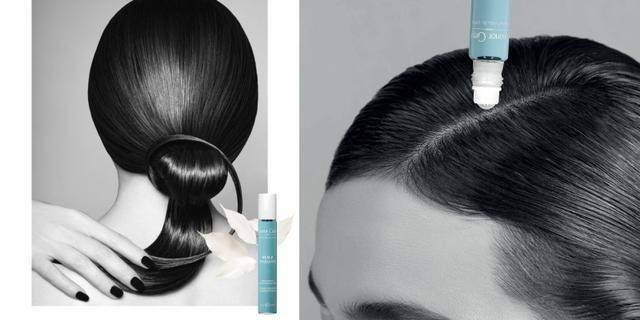 狂抓解決不了問題,洗髮前滾一下「黎諾 S.O.S頭皮養護小藍瓶」換季頭皮不再抓狂!