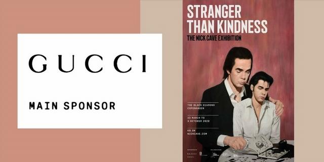 Gucci贊助支持《Stranger Than Kindness》展覽,帶你走進鬼才音樂家Nick Cave創意國度
