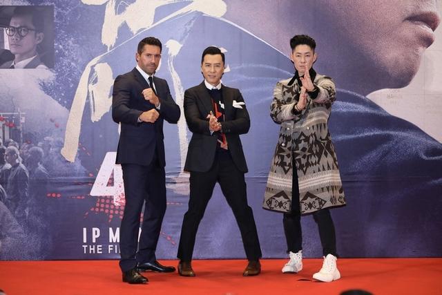 《葉問4》 香港首映 ! 甄子丹嘆身體已「五勞七傷」