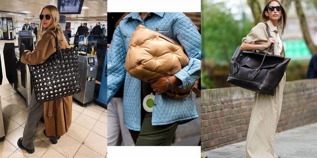 大包怎麼搭才時髦?看完10款潮人這樣穿,就算不是大包控的你也會默默被燒到
